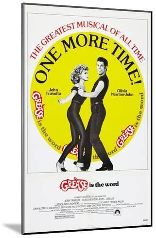 Grease, Olivia Newton-John, John Travolta, 1978, © Paramount/courtesy Everett Collection--Mounted Art Print