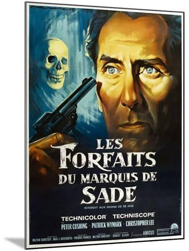 The Skull, French poster, Peter Cushing, 1965--Mounted Art Print