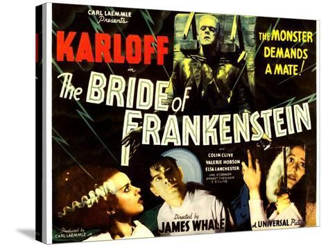 THE BRIDE OF FRANKENSTEIN--Stretched Canvas Print