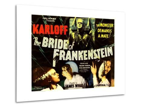 THE BRIDE OF FRANKENSTEIN--Metal Print
