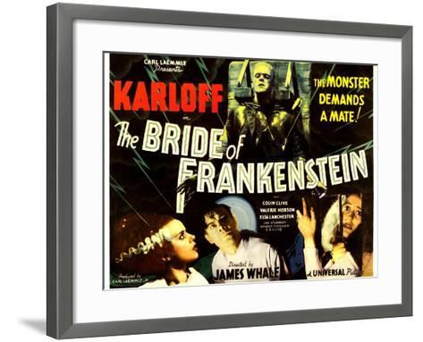 THE BRIDE OF FRANKENSTEIN--Framed Art Print