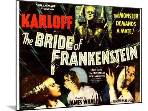 THE BRIDE OF FRANKENSTEIN--Mounted Art Print