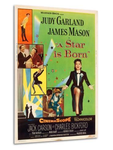 A Star is Born, Judy Garland, 1954--Metal Print