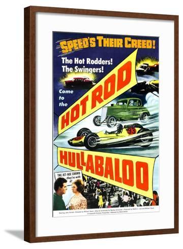 HOT ROD HULLABALOO--Framed Art Print