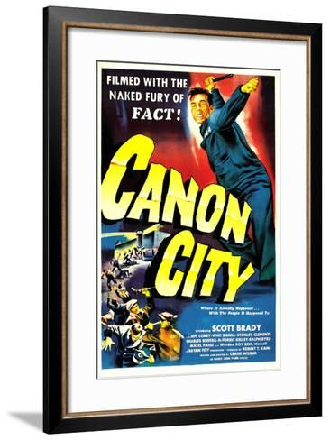 CANON CITY, US poster, Scott Brady, 1948--Framed Art Print