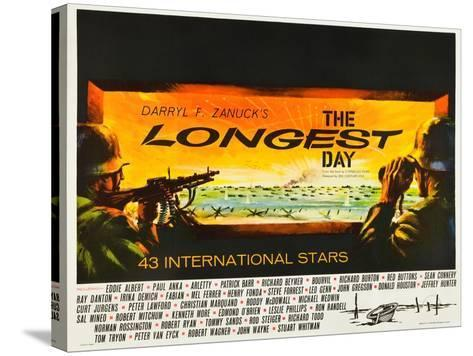 THE LONGEST DAY--Stretched Canvas Print