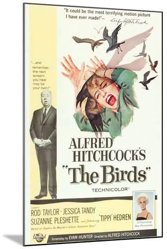 The Birds, Alfred Hitchcock, Jessica Tandy, Tippi Hedren, 1963--Mounted Art Print