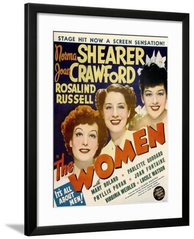The Women, Joan Crawford, Norma Shearer, Rosalind Russell, 1939--Framed Art Print