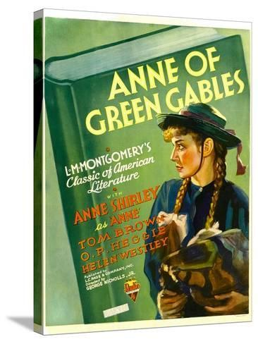 Anne of Green Gables, Anne Shirley, 1934--Stretched Canvas Print