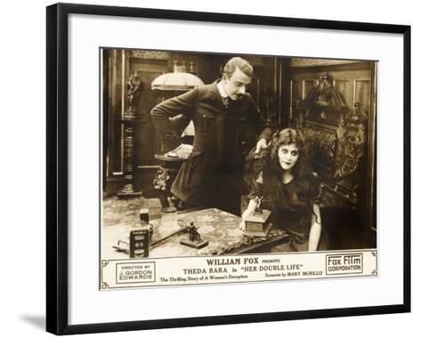 HER DOUBLE LIFE--Framed Art Print