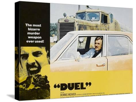 Duel, Dennis Weaver, 1971--Stretched Canvas Print