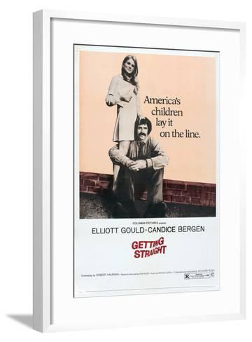 Getting Straight, Candice Bergen, 1970--Framed Art Print
