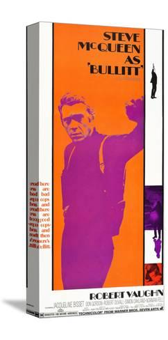 Bullitt, Steve McQueen, 1968--Stretched Canvas Print