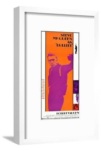 Bullitt, Steve McQueen, 1968--Framed Art Print