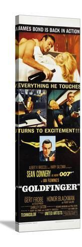 Goldfinger--Stretched Canvas Print