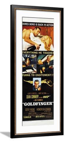 Goldfinger--Framed Art Print