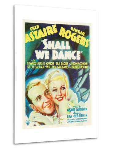 Shall We Dance?, Fred Astaire, Ginger Rogers, 1937--Metal Print