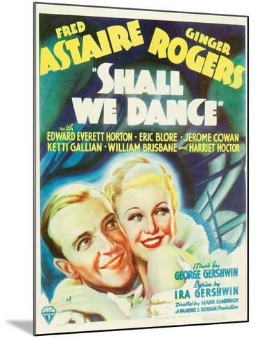 Shall We Dance?, Fred Astaire, Ginger Rogers, 1937--Mounted Art Print