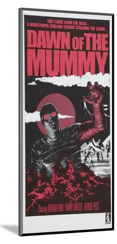 Dawn of the Mummy, Australian poster art, 1981--Mounted Art Print