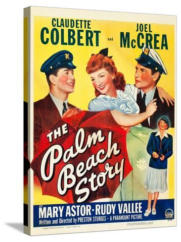 The Palm Beach Story--Stretched Canvas Print