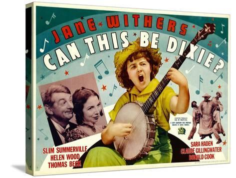 Can This Be Dixie?, Slim Summerville, 1936--Stretched Canvas Print