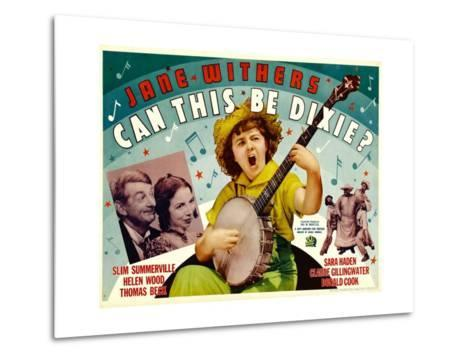 Can This Be Dixie?, Slim Summerville, 1936--Metal Print