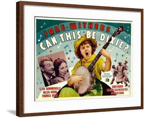 Can This Be Dixie?, Slim Summerville, 1936--Framed Art Print