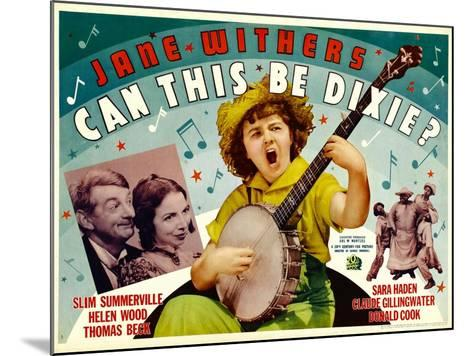 Can This Be Dixie?, Slim Summerville, 1936--Mounted Art Print