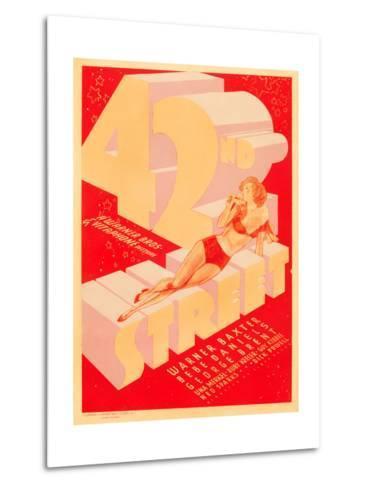 42nd Street, 1933--Metal Print