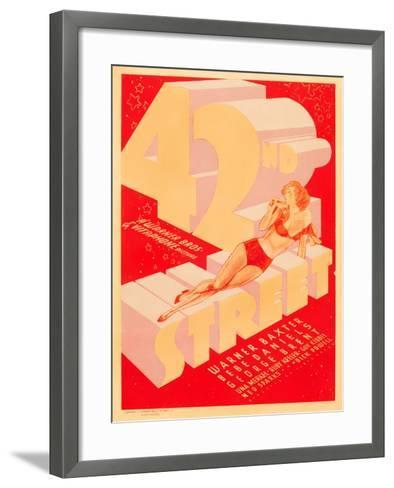42nd Street, 1933--Framed Art Print