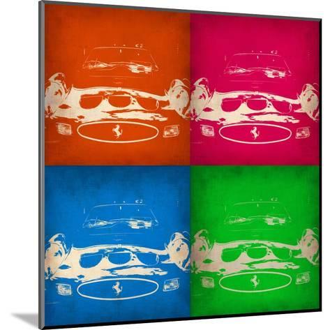 Ferrari Front Pop Art 1-NaxArt-Mounted Art Print