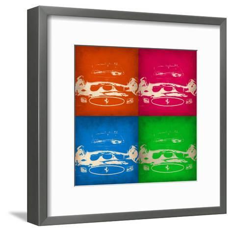 Ferrari Front Pop Art 1-NaxArt-Framed Art Print