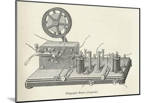 Morse's Telegraph Receiver-Science, Industry and Business Library-Mounted Giclee Print
