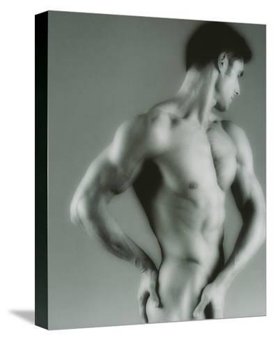Nude Man-Cristina-Stretched Canvas Print