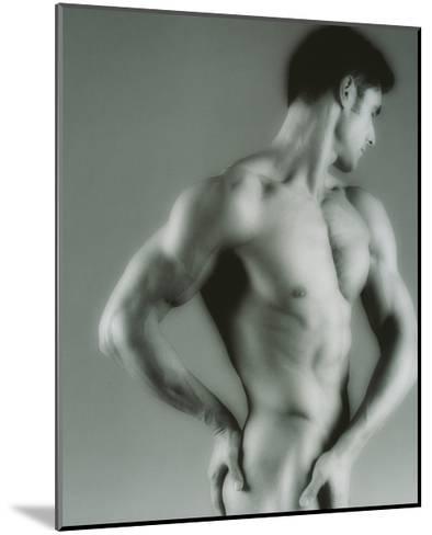 Nude Man-Cristina-Mounted Giclee Print