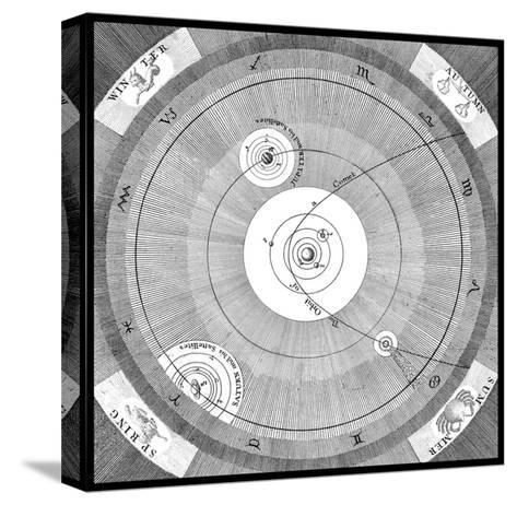 Orbit of a Comet-Science, Industry and Business Library-Stretched Canvas Print