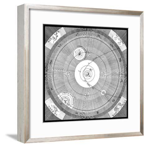 Orbit of a Comet-Science, Industry and Business Library-Framed Art Print