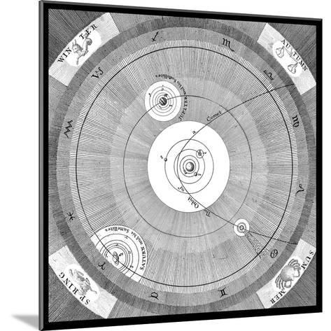 Orbit of a Comet-Science, Industry and Business Library-Mounted Giclee Print