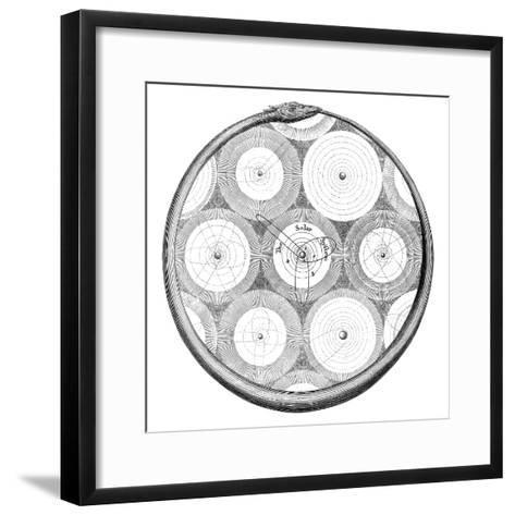 Solar System-Science, Industry and Business Library-Framed Art Print