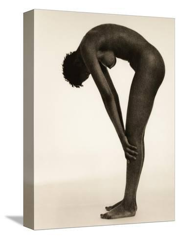 Naked Woman Bending Over-Cristina-Stretched Canvas Print