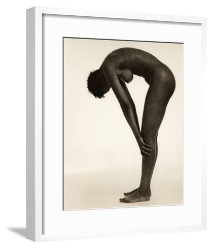 Naked Woman Bending Over-Cristina-Framed Art Print
