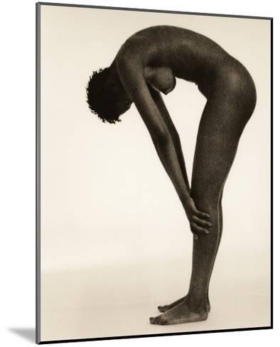 Naked Woman Bending Over-Cristina-Mounted Giclee Print