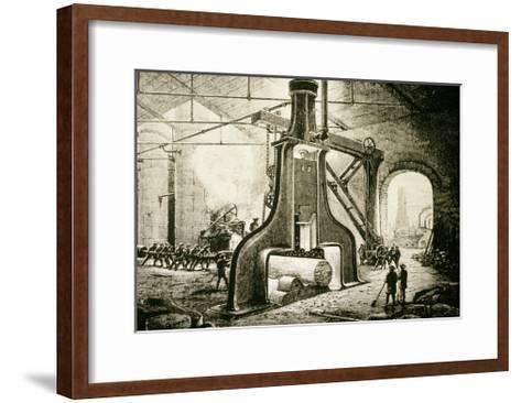 Painting by James Nasmyth-Jeremy Burgess-Framed Art Print
