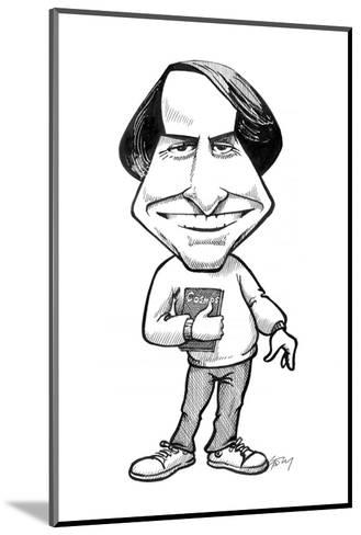 Carl Sagan, US Astronomer-Gary Gastrolab-Mounted Giclee Print