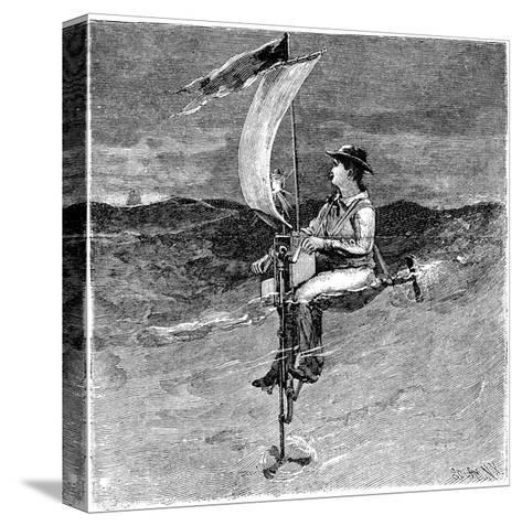 Mechanical Buoy, 19th Century-Science Photo Library-Stretched Canvas Print