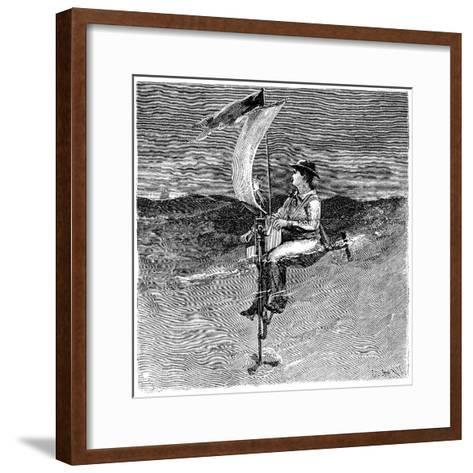 Mechanical Buoy, 19th Century-Science Photo Library-Framed Art Print
