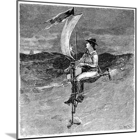 Mechanical Buoy, 19th Century-Science Photo Library-Mounted Giclee Print