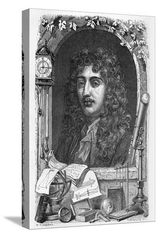 Christiaan Huygens, Dutch Physicist-Science Photo Library-Stretched Canvas Print