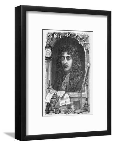Christiaan Huygens, Dutch Physicist-Science Photo Library-Framed Art Print