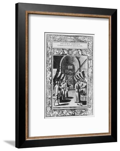 Knights Hospitaller, 16th Century-Science Photo Library-Framed Art Print